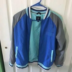 Other - Blue Bomber jacket (12/14 L)